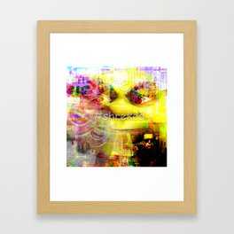 #shreked Framed Art Print