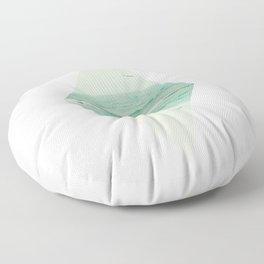 Parallel Waves Floor Pillow