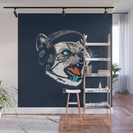 Stereocat Wall Mural