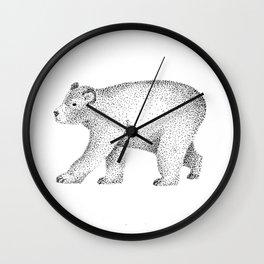 Ursus Americanus Wall Clock