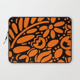 Beautiful Orange Otomi Laptop Sleeve