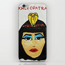 KHLEOPATRA iPhone Skin