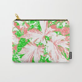 GERANIUM LEAVES PINK Carry-All Pouch
