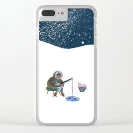 Shellfisherwoman Clear iPhone Case