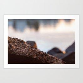Sunrise Beach - cm2b Photography (6 of 7) Art Print