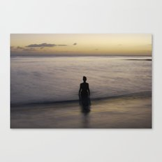 where time becomes Canvas Print