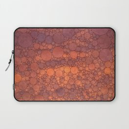 Percolated Sunset in Warm Tones Laptop Sleeve