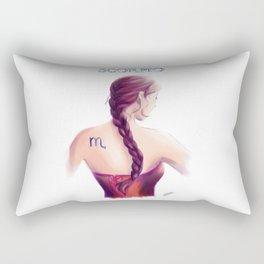 Scorpio Sign - Zodiac series by OccultArt Rectangular Pillow