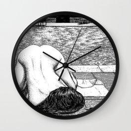 asc 799 - La chaleur chienne (Dog Days Drips) Wall Clock