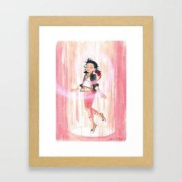 Marinette and Tikki Framed Art Print