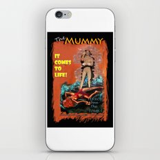 Woman in the red dress meets The Mummy iPhone Skin
