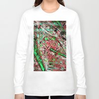 los angeles Long Sleeve T-shirts featuring los angeles by donphil