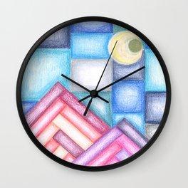 Klee Inspiration N°1 Wall Clock