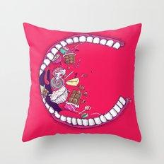 [ C ] RAVING Throw Pillow