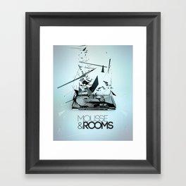Mousse & Rooms Framed Art Print