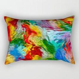 Magic Carpet Ride Abstract Rectangular Pillow