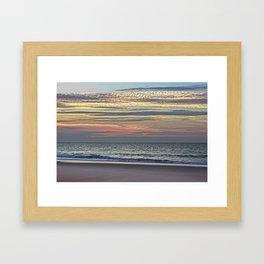 Shale sunrise Framed Art Print