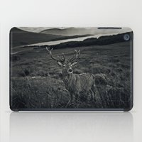 stag iPad Cases featuring Stag by Ferdinand Bardamu