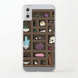 Cabinet of Curiosities Clear iPhone Case