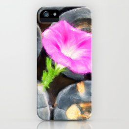 just a lovely flower iPhone Case