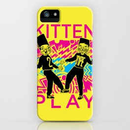 Kitten Play iPhone Case
