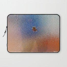 Winter Bee spy on the glass Laptop Sleeve