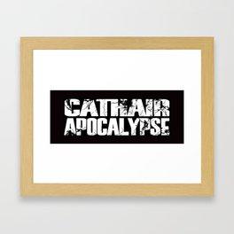 Cathair Apocalypse LOGO Framed Art Print