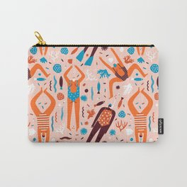 Swimmers in pink Carry-All Pouch