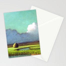 Martin Johnson Heade Sunlight Shadow Newbury Marsh Stationery Cards