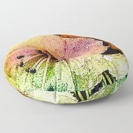 Painted Himalayan Rhodo Floor Pillow
