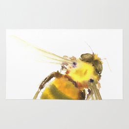 Bee, bee art, bee design Rug
