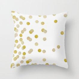 GOLD Throw Pillow