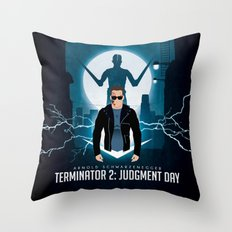 Hasta la vista, baby. Throw Pillow