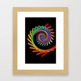 math is beautiful -77- Framed Art Print