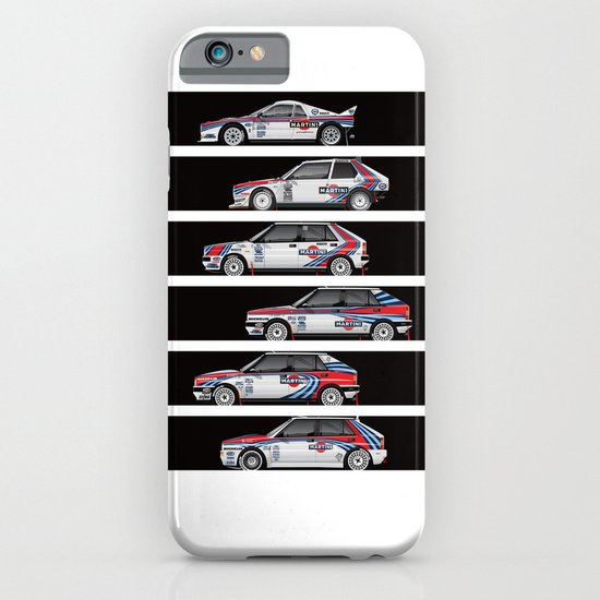 Lancia Martini Rally Cars iPhone & iPod Case