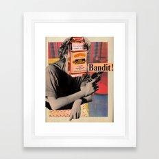 Tequila Bandit Framed Art Print