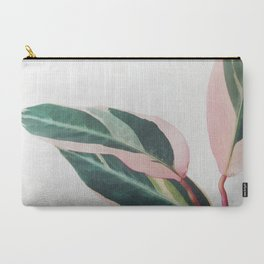 Pink Leaves II Carry-All Pouch