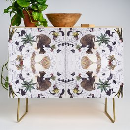 The Joy of Sex and Indoor Gardening Credenza