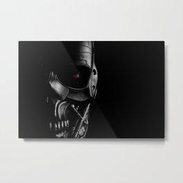 Endoskeleton Metal Print