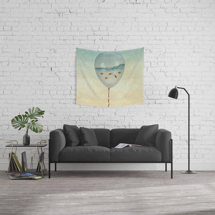Balloon Fish Wall Tapestry