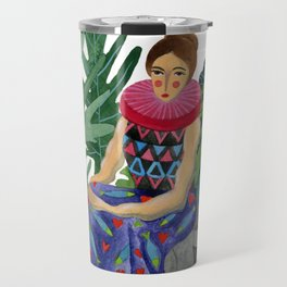 Queen of the greenhouse Travel Mug