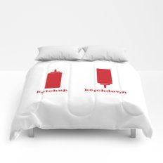 Ketchup-Ketchdown Comforters