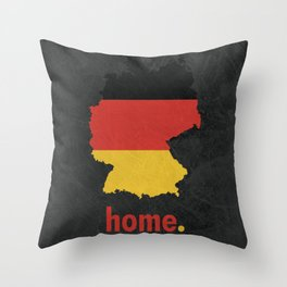 Germany Proud Throw Pillow