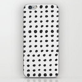Scribble Dots iPhone Skin