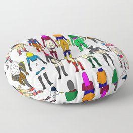 Superhero Butts - Girls Superheroine Butts Floor Pillow