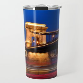 Szechenyi Chain bridge Travel Mug