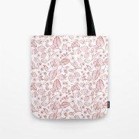 oana befort Tote Bags featuring Sreawberry by Oana Befort