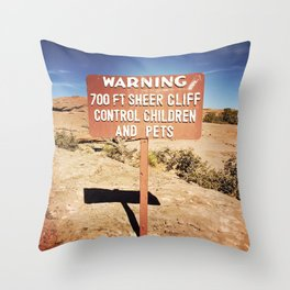 ROAD TRIP III Throw Pillow