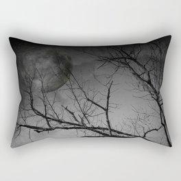 Eerie Night Rectangular Pillow
