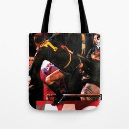 eric cantona print Tote Bag